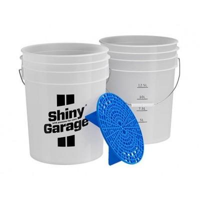 SHINY GARAGE Wash Bucket...